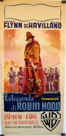 The Adventures of Robin Hood - Italian Movie Poster (xs thumbnail)