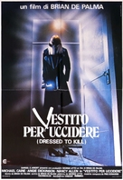 Dressed to Kill - Italian Movie Poster (xs thumbnail)