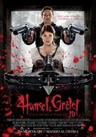 Hansel & Gretel: Witch Hunters - Italian Movie Poster (xs thumbnail)