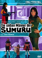 Die sieben Männer der Sumuru - German Movie Cover (xs thumbnail)