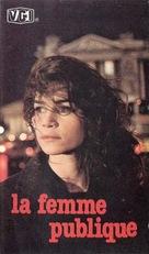 La femme publique - Greek VHS cover (xs thumbnail)