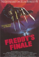 Freddy's Dead: The Final Nightmare - German Movie Poster (xs thumbnail)