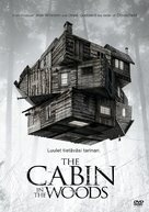 The Cabin in the Woods - Finnish DVD movie cover (xs thumbnail)
