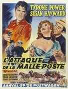 Rawhide - Belgian Movie Poster (xs thumbnail)