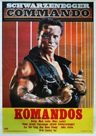 Commando - Yugoslav Movie Poster (xs thumbnail)