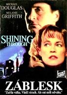 Shining Through - Czech Movie Cover (xs thumbnail)