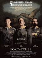 Foxcatcher - Slovak Movie Poster (xs thumbnail)