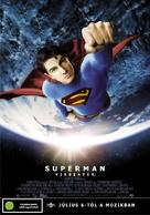 Superman Returns - Hungarian Movie Poster (xs thumbnail)