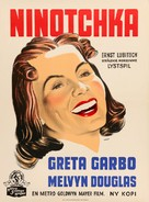 Ninotchka - Danish Movie Poster (xs thumbnail)