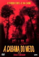 Cabin Fever - Portuguese DVD movie cover (xs thumbnail)