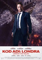 London Has Fallen - Turkish Movie Poster (xs thumbnail)