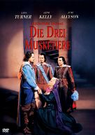 The Three Musketeers - German DVD cover (xs thumbnail)