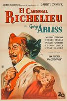Cardinal Richelieu - Argentinian Movie Poster (xs thumbnail)