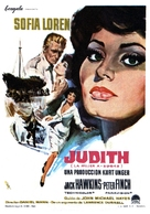 Judith - Spanish Movie Poster (xs thumbnail)