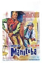 Die Hölle von Manitoba - Belgian Movie Poster (xs thumbnail)