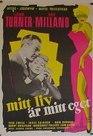 A Life of Her Own - Swedish Movie Poster (xs thumbnail)