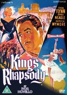 King's Rhapsody - British DVD cover (xs thumbnail)