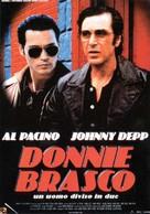 Donnie Brasco - Italian Movie Poster (xs thumbnail)