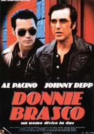Donnie Brasco - Italian Movie Poster (xs thumbnail)