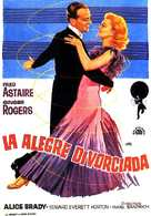 The Gay Divorcee - Spanish Movie Poster (xs thumbnail)