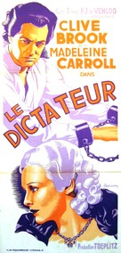The Dictator - French Movie Poster (xs thumbnail)