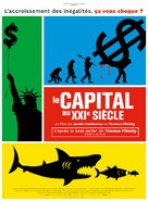 Capital in the Twenty-First Century - French Movie Poster (xs thumbnail)