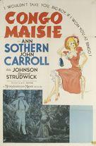 Congo Maisie - Movie Poster (xs thumbnail)