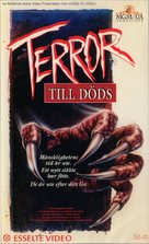 The Terror Within - Swedish VHS cover (xs thumbnail)