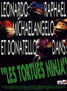 Teenage Mutant Ninja Turtles - French Movie Poster (xs thumbnail)