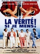 Vérité si je mens, La - French Movie Poster (xs thumbnail)