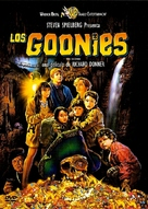 The Goonies - Argentinian DVD cover (xs thumbnail)