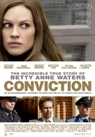 Conviction - Swiss Movie Poster (xs thumbnail)