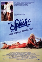 Splash - Italian Movie Poster (xs thumbnail)