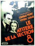 Dark Journey - French Movie Poster (xs thumbnail)