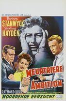 Crime of Passion - Belgian Theatrical poster (xs thumbnail)