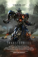 Transformers: Age of Extinction - Movie Poster (xs thumbnail)