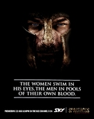 """""""Spartacus: Blood And Sand"""" - New Zealand Movie Poster (xs thumbnail)"""