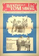 """Les aventures de Tom Sawyer"" - Romanian Movie Poster (xs thumbnail)"