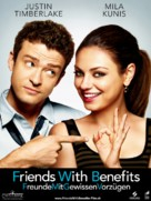 Friends with Benefits - Swiss Movie Poster (xs thumbnail)