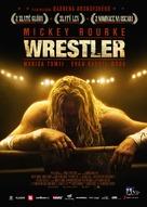 The Wrestler - Czech Movie Poster (xs thumbnail)
