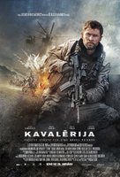 12 Strong - Latvian Movie Poster (xs thumbnail)