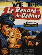The Sea Chase - French Movie Poster (xs thumbnail)