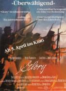 Glory - German Movie Poster (xs thumbnail)
