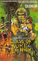 Class of Nuke 'Em High - Turkish Movie Poster (xs thumbnail)