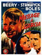 A Message to Garcia - French Movie Poster (xs thumbnail)