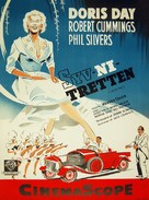 Lucky Me - Danish Movie Poster (xs thumbnail)