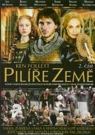 """The Pillars of the Earth"" - Czech DVD movie cover (xs thumbnail)"
