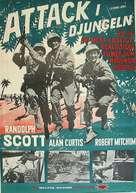 'Gung Ho!': The Story of Carlson's Makin Island Raiders - Swedish Movie Poster (xs thumbnail)