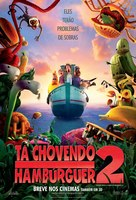 Cloudy with a Chance of Meatballs 2 - Brazilian Movie Poster (xs thumbnail)