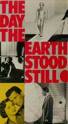 The Day the Earth Stood Still - VHS movie cover (xs thumbnail)